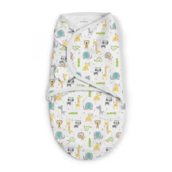 Summer Infant SwaddleMe 嬰兒包巾 - Safari Excursion