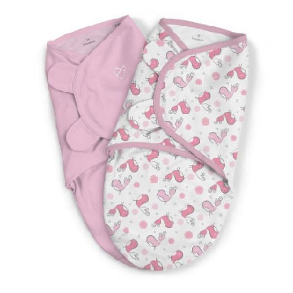 Summer Infant SwaddleMe 嬰兒包巾 (2件裝) - Tweet Tweet