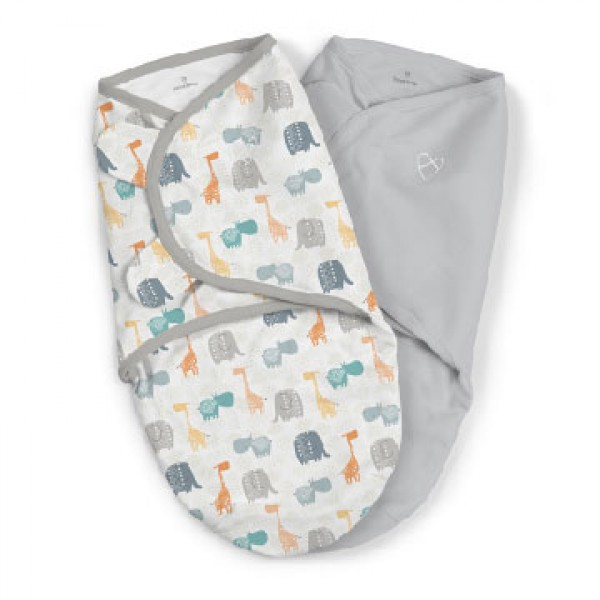 Summer Infant SwaddleMe 嬰兒包巾 (2件裝) - Bohemian Jungle