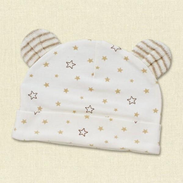 ElfinDoll 嬰兒帽子 – 星星圖案