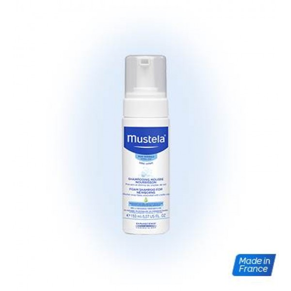Mustela 初生嬰兒泡沬洗頭水 150ml