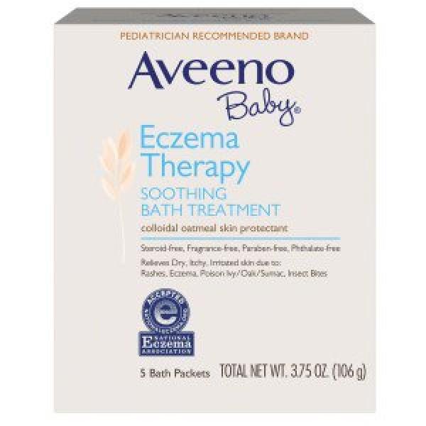 Aveeno Baby嬰兒舒敏修護浴粉 (21g x5包裝)