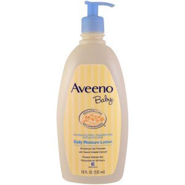 Aveeno Baby 嬰兒保濕乳液 18oz (532 ml)