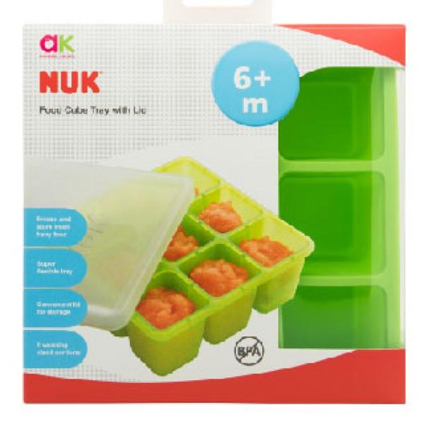 NUK 嬰兒離乳食儲存盒 60ml x9格