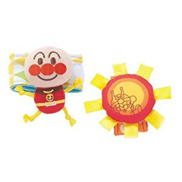 Bandai 麵包超人小太陽手鈴玩具