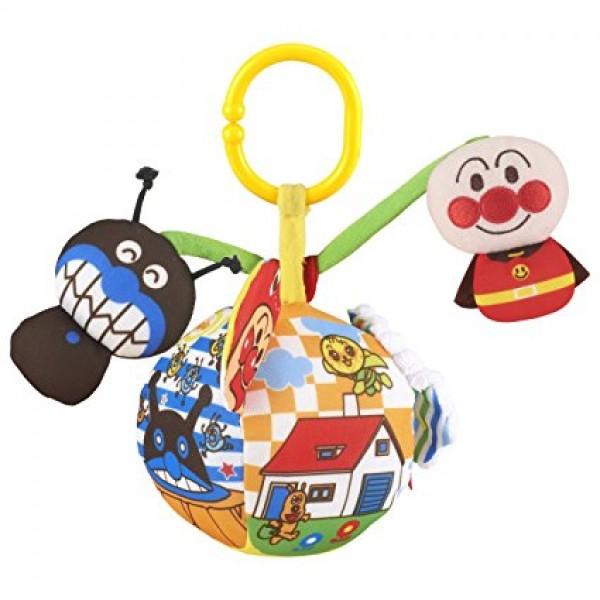 Bandai 麵包超人歡樂布玩具球