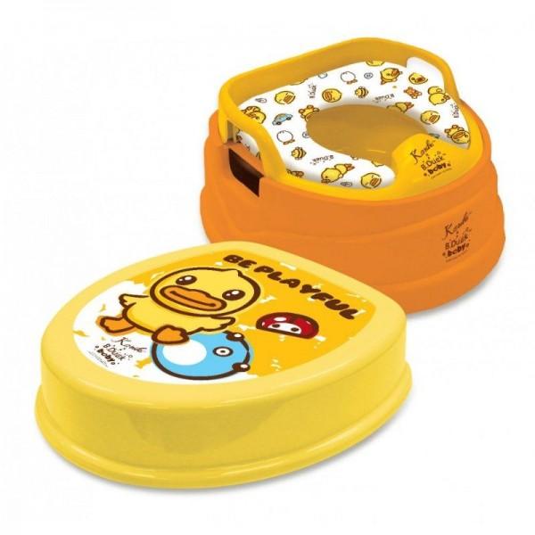 Karibu x B.Duck 4合1 兒童座廁