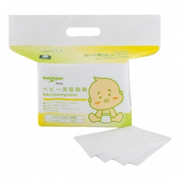 SoftTouch Baby 嬰兒專用清潔棉 150枚  ❤10包優惠 $250❤