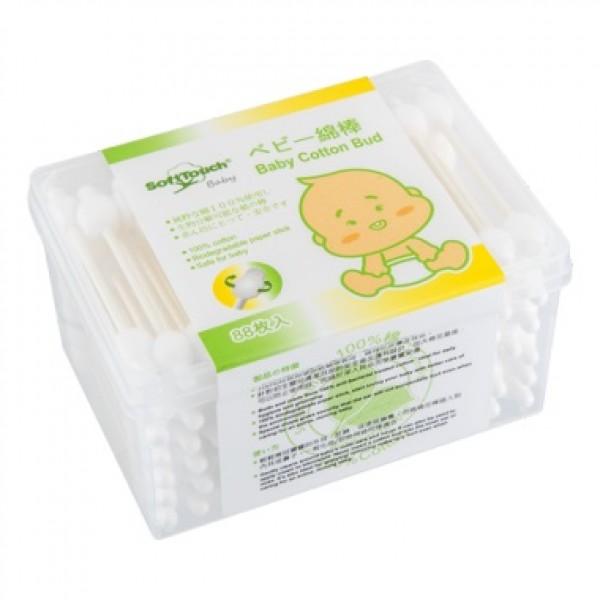 SoftTouch Baby 嬰兒安全棉棒 88枚
