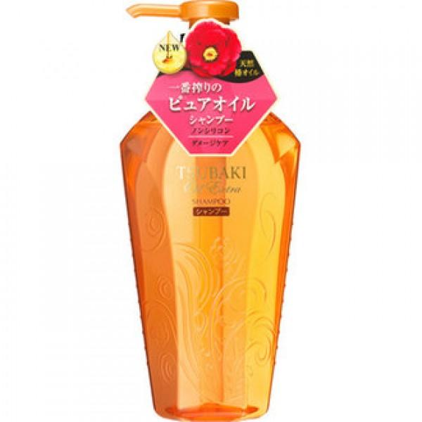 Shiseido資生堂 Tsubaki修護滋養洗髮露(輕柔感) 450ml 樽裝
