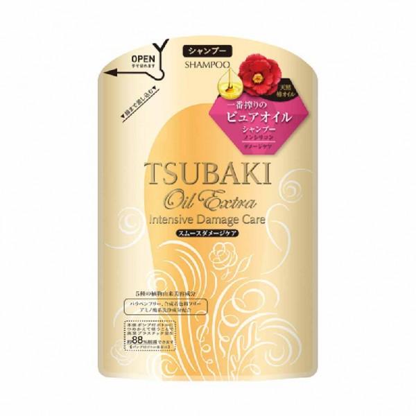 Shiseido資生堂 Tsubaki 修護滋養洗髮露(輕柔感) 330ml 補充裝