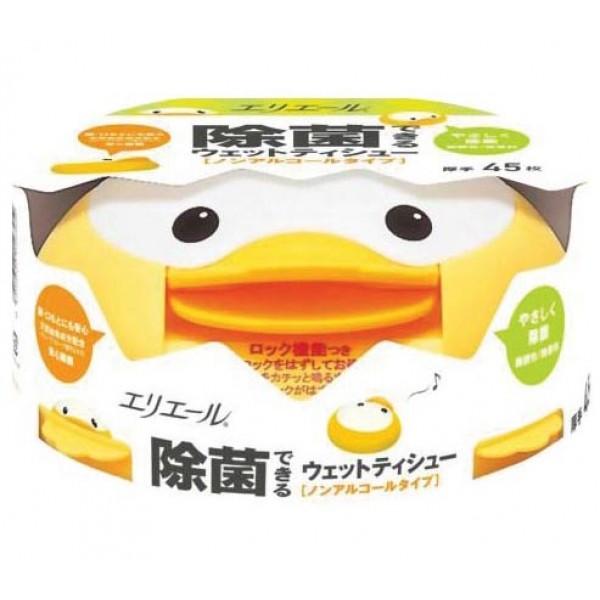 GOON 加厚除菌濕紙巾盒裝 (45枚)