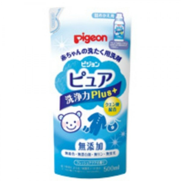 Pigeon 嬰兒強力去污洗衣液 500ml 補充裝 ❤6包優惠 $199❤