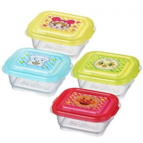 LEC 麵包超人離乳食儲存盒 60ml x4個