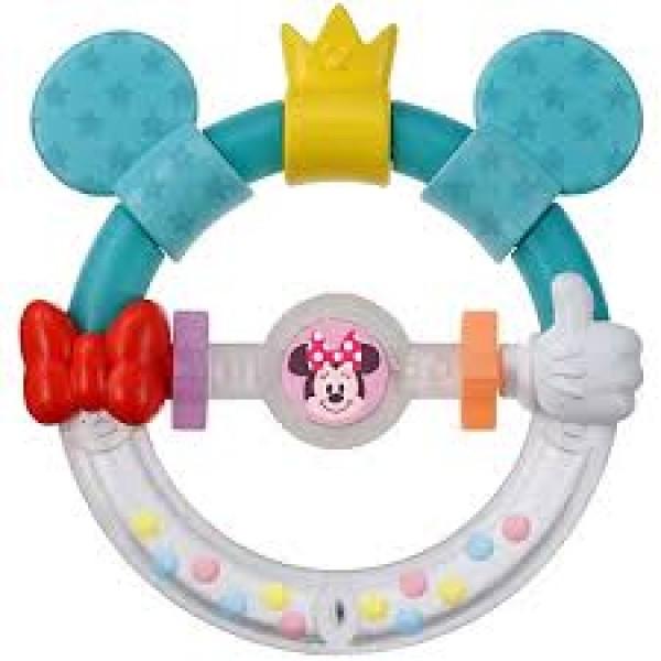 Disney Baby 米奇米妮牙膠手遙鈴玩具