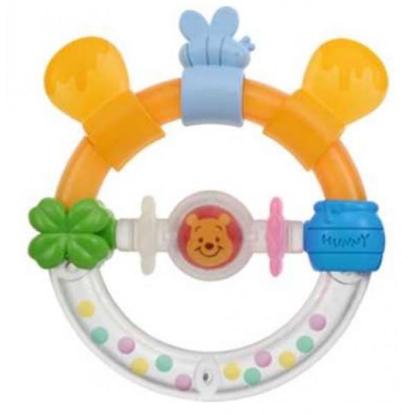 Disney Baby 小熊維尼牙膠手遙鈴玩具