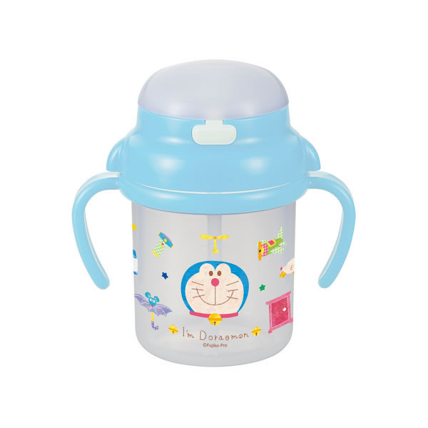 Doraemon多啦A夢飲管學習杯(8個月以上)