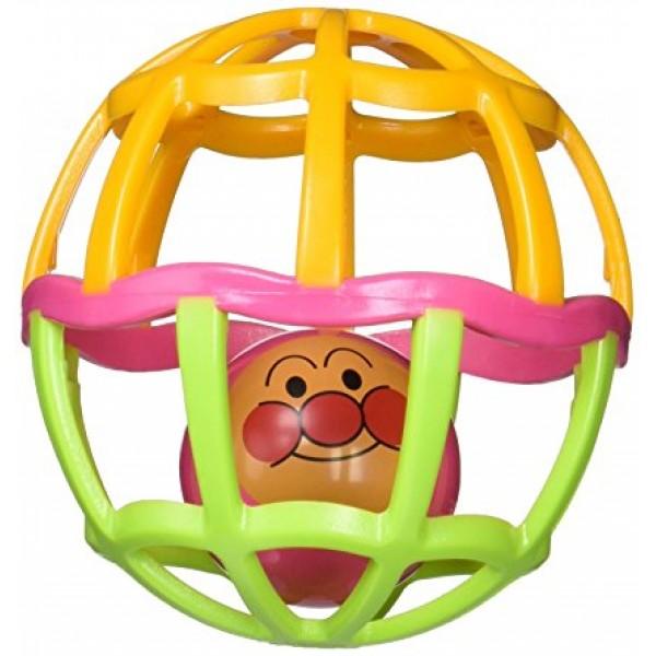 PINOCCHIO  麵包超人 搖鈴玩具球 (橙/綠)
