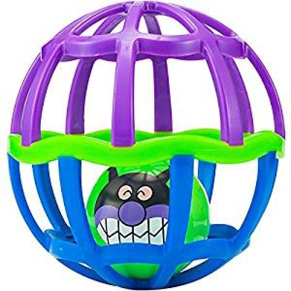 PINOCCHIO  麵包超人 搖鈴玩具球 (藍/紫)