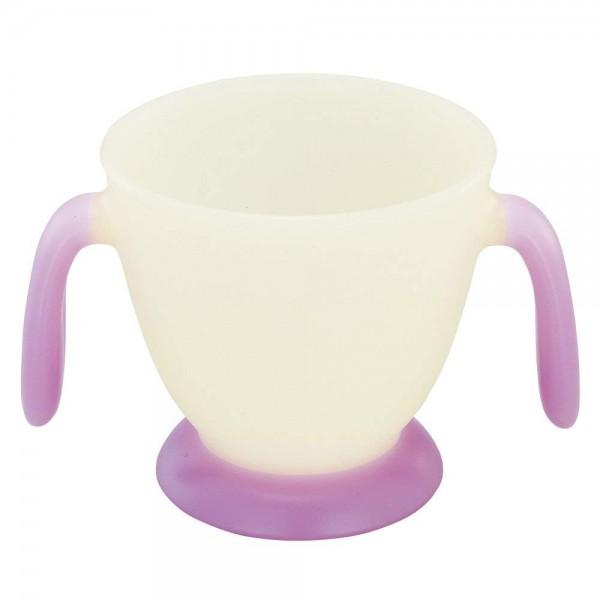 Combi 嬰兒牛奶杯(紫)