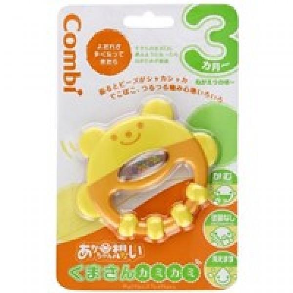 Combi 小熊固齒手搖鈴玩具