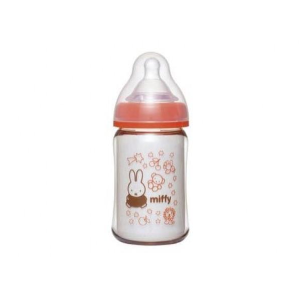 ChuChuBaby x Miffy PPSU闊身塑膠奶瓶(闊身口徑)160毫升,附矽膠奶咀 [RS]