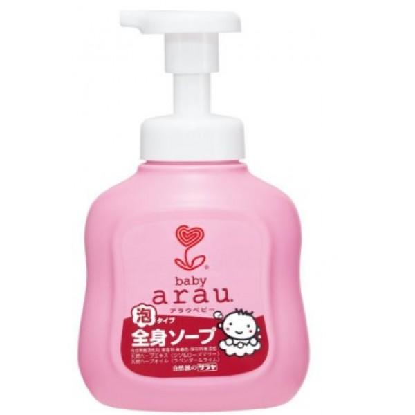 Arau 雅樂寶 嬰兒 2合1沐浴洗髮泡泡 450毫升 樽裝