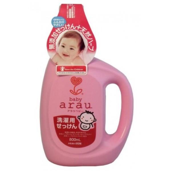 Arau 雅樂寶 嬰兒洗衣液 800毫升 樽裝