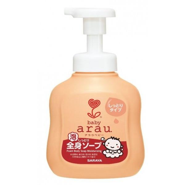 Arau 雅樂寶 嬰兒 2合1滋潤沐浴洗髮泡泡 450毫升 樽裝