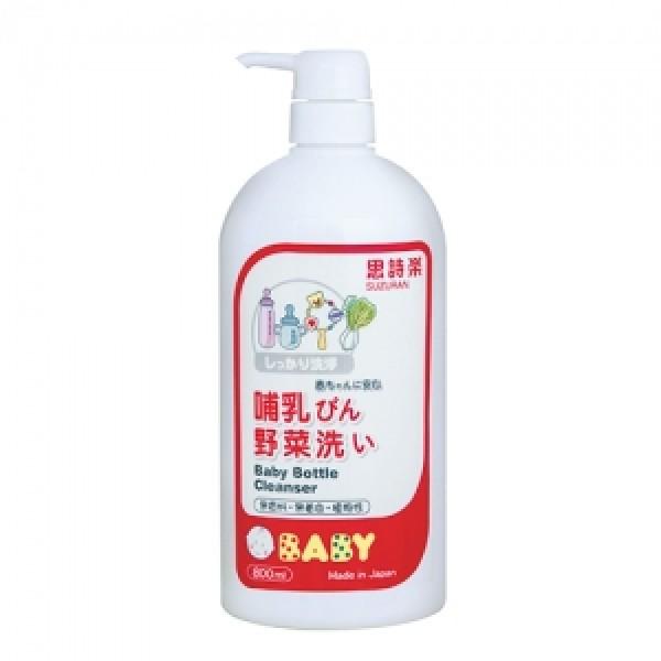 思詩樂嬰兒奶瓶蔬果洗潔液 800ml (樽裝)