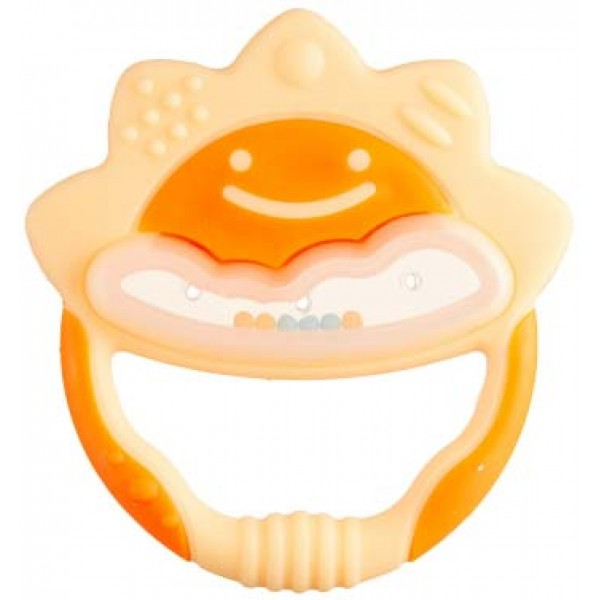 Richell 太陽造型嬰兒牙膠 (連盒)