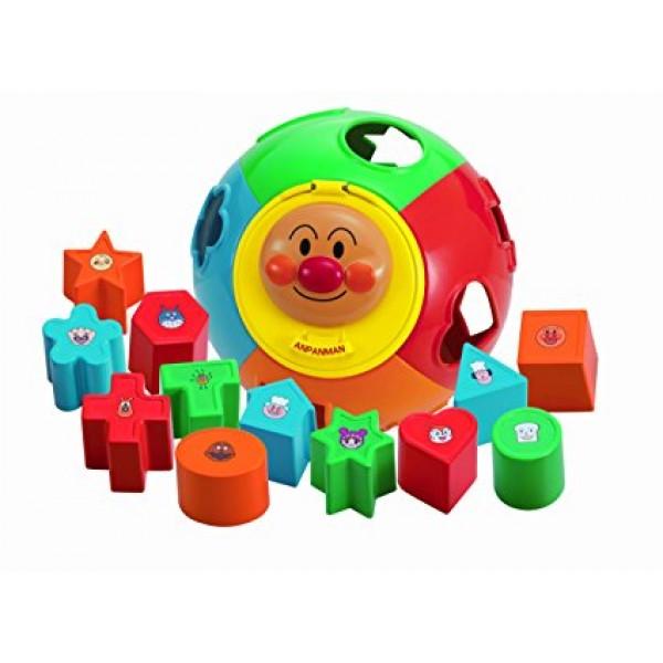 Joy Palette 麵包超人圓形波積木玩具
