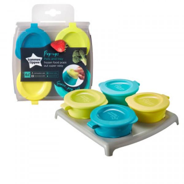 Tommee Tippee 嬰兒離乳食保存盒 (2oz x4個裝)