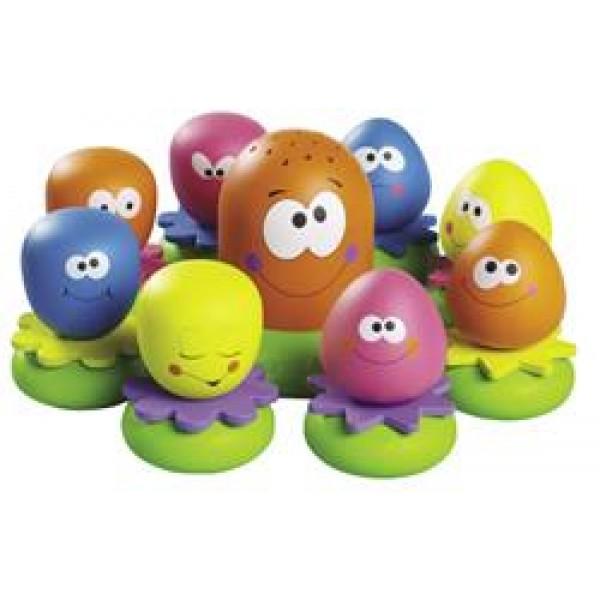 Tomy章魚沐浴玩具套裝