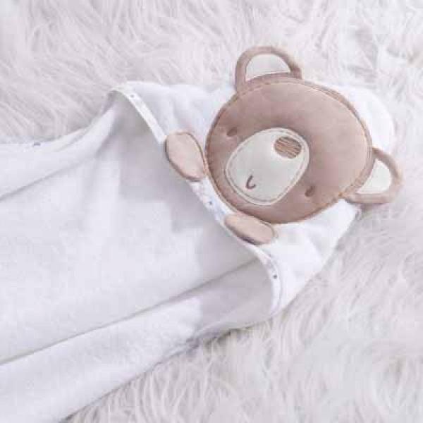 Silvercloud 嬰兒包巾 - 小星星款