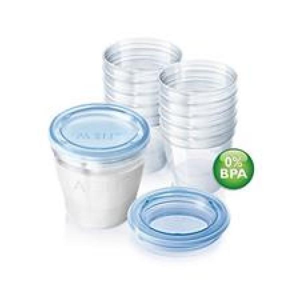 Philips Avent 母乳儲存杯 (10個裝)