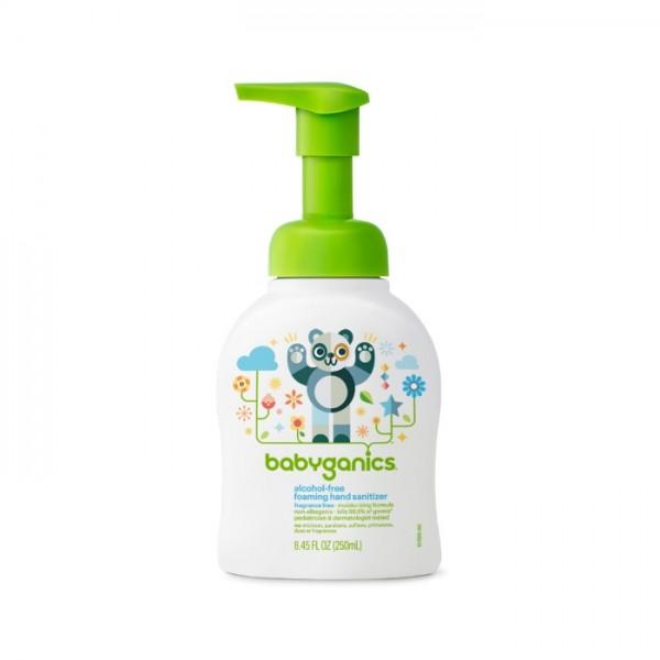 Babyganics 無酒精消毒搓手液(免過水) 泵裝 -無香味 250ml