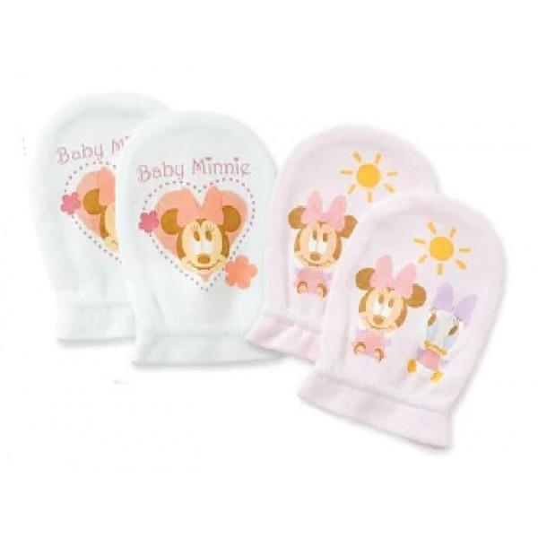 Disney Baby 嬰兒手套  (2對入) - 米妮