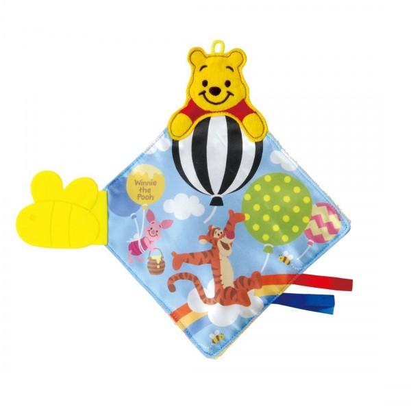 Takara Tomy Disney Baby 小熊維尼布質固齒玩具
