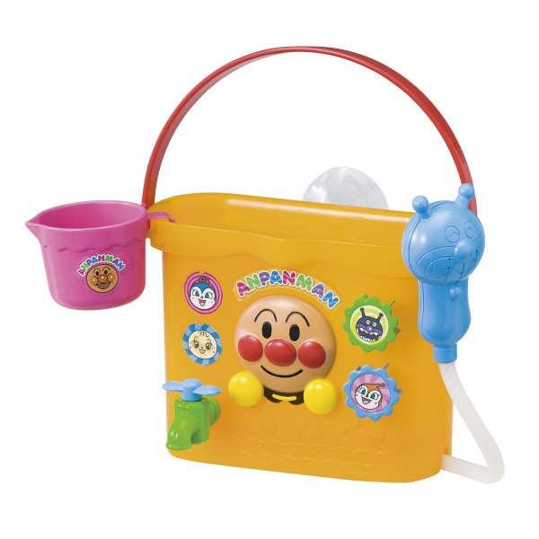 PINOCCHIO Anpanman 麵包超人水桶沖涼玩具