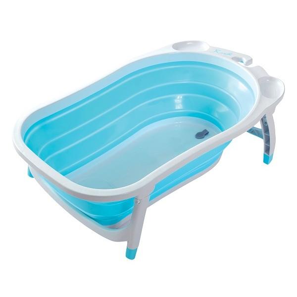 Karibu Compact 摺疊式浴盤 - 藍色