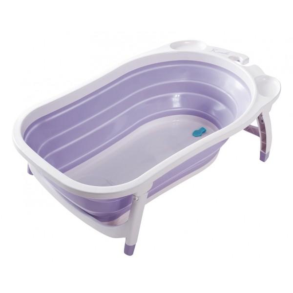 Karibu Compact 摺疊式浴盤 - 淺紫色