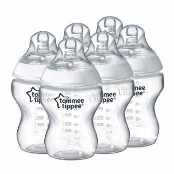 Tommee Tippee Closer to Nature 嬰兒奶樽 260ml (6個裝)