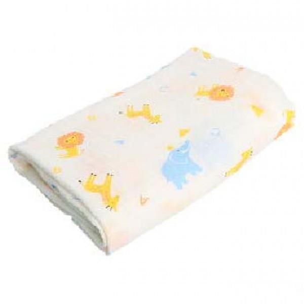 嬰兒紗巾被 100 x100cm – 動物圖案
