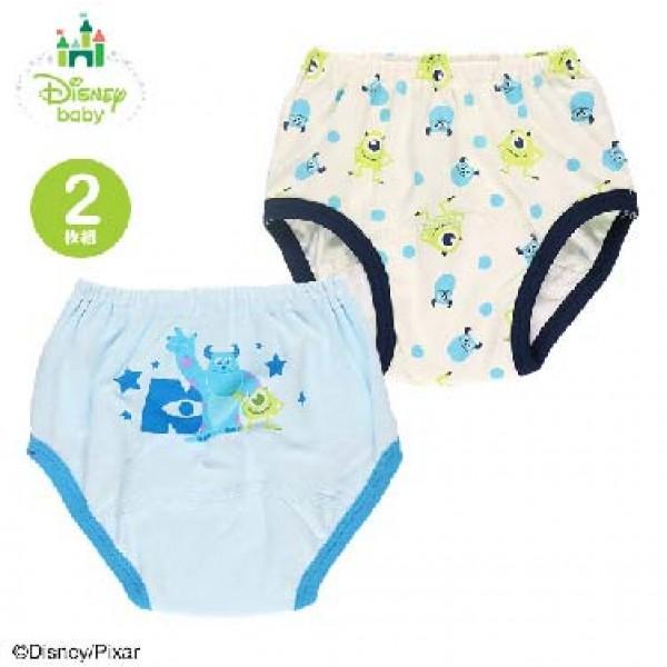 Disney 怪獸公司 三層防水戒片褲 (2枚組)