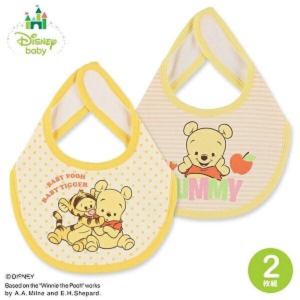 Disney Baby 口水肩 Winnie the Pooh (2枚入)