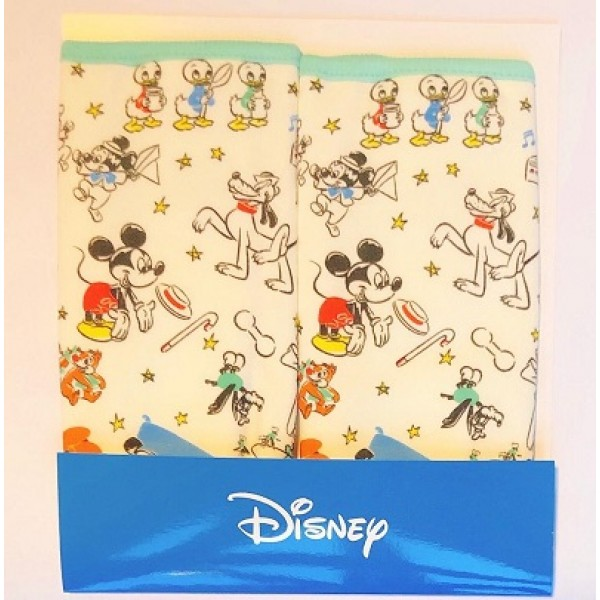 Disney 咬咬巾 – Mickey & Friends (2枚入)