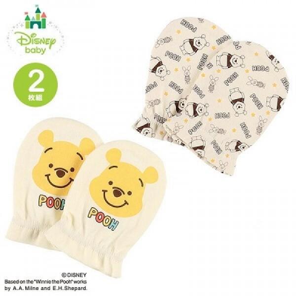 Disney Baby 嬰兒手套  (2對入) - 小熊維尼