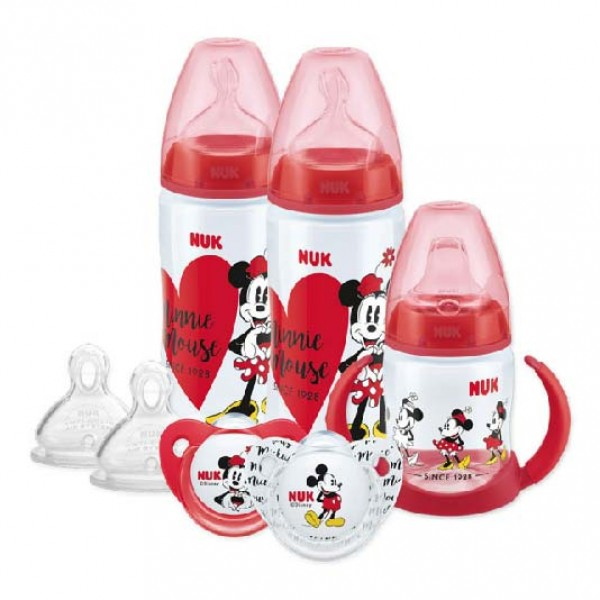 NUK Disney Minnie Mouse 奶樽學習杯套裝