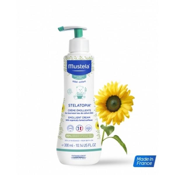 Mustela 舒膚敏潤膚膏 300ml 泵裝 (有效期May2021)